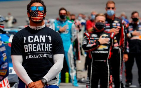 NASCAR's Bubba Wallace will have Black Lives Matter paint scheme on car at Martinsville Speedway race