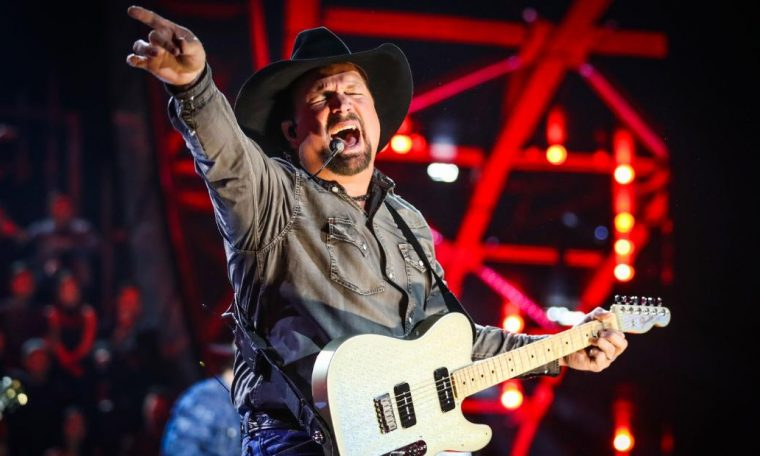 Garth Brooks is hitting the road this for a drive-in concert series