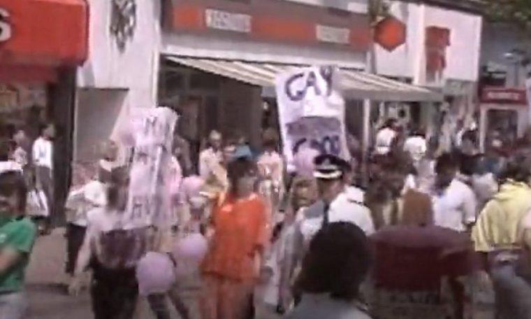 Pride Cymru: 35 years since 'huge step' in Cardiff