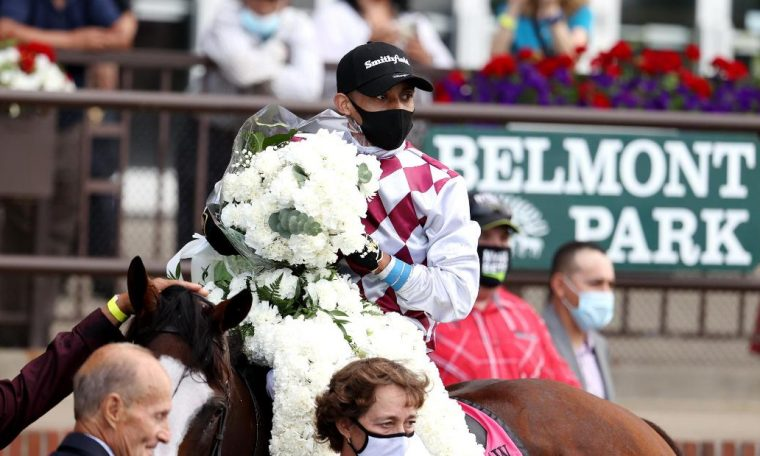 Tiz the Law wins the 152nd Belmont Stakes in New York