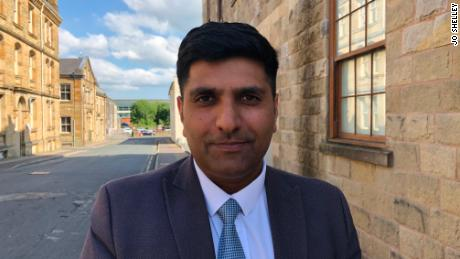"""Khan says that despite the Burnley's past, it has become a """"very cohesive community."""""""