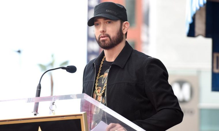 Eminem apologizes to Diddy's Revolt for 'unnecessary distraction'