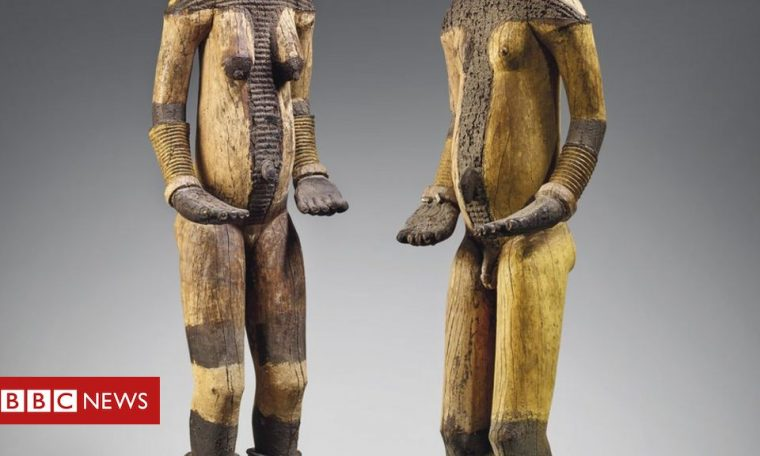 Nigeria saddened by Christie's sale of 'looted' statues