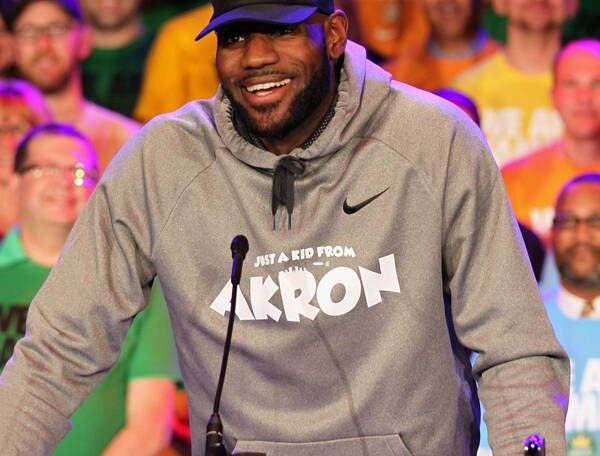 A Look at LeBron James' Inspiring History of Activism in His Hometown and Beyond