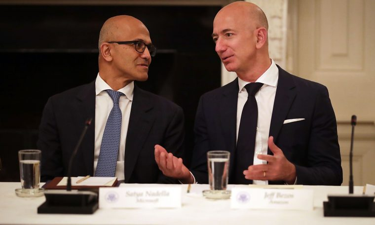 Amazon, Microsoft face opposition to police use of facial recognition