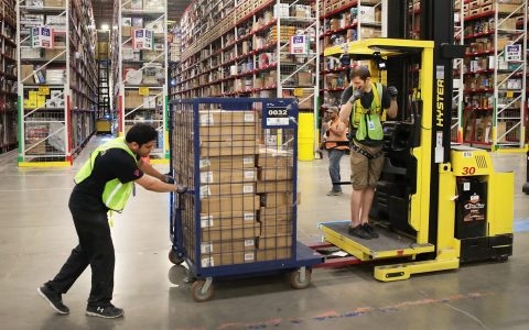 Amazon warehouse workers go on strike in Germany over Covid-19
