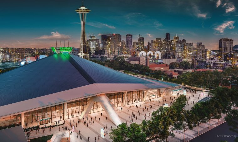 Amazon wins naming rights to new Seattle stadium: Climate Pledge Arena