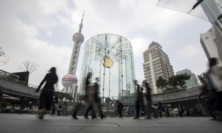 Apple iPhone sales in China drop in May after rebound