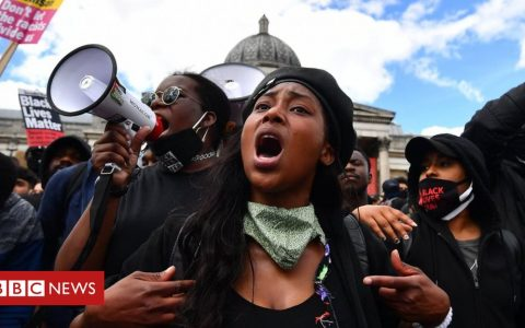 Black Lives Matter: 'Much more that we need to do' to tackle racism - PM