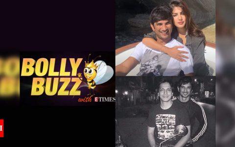 Bolly Buzz: Police interrogate Rhea Chakraborty; Mahesh Shetty shares a heartfelt note for Sushant Singh Rajput | Hindi Movie News