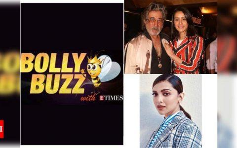 Bolly Buzz: Shraddha Kapoor won't let Shraddha Kapoor resume work post lockdown, Shahid Kapoor cooks for Mira Rajput, Deepika Padukone shares a beautiful portrait made by a fan | Hindi Movie News