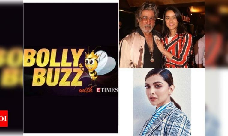 Bolly Buzz: Shraddha Kapoor won't let Shraddha Kapoor resume work post lockdown, Shahid Kapoor cooks for Mira Rajput, Deepika Padukone shares a beautiful portrait made by a fan | Hindi Movie News