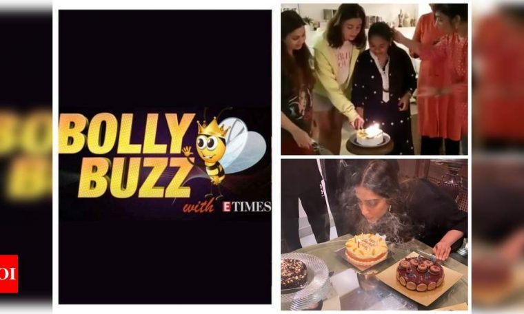 Bolly Buzz: Sonam Kapoor rings in her 35th birthday with family, Alia Bhatt's sweet gesture for her house help is heart-winning, Kangana Ranaut plays 'Love Story' theme on the piano | Hindi Movie News