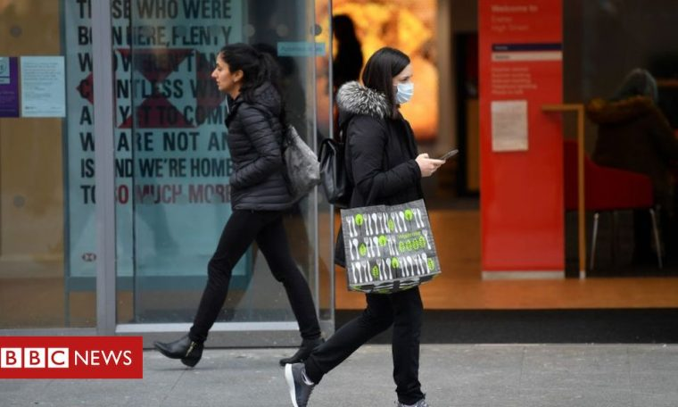 UK inflation rate falls to fresh four-year low