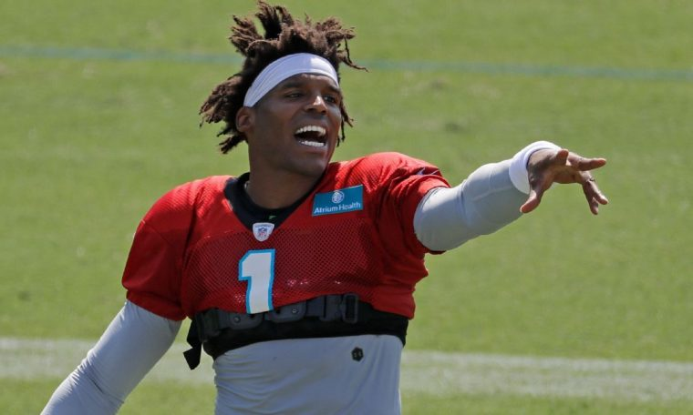 Cam Newton fantasy football outlook and projection as a New England Patriot