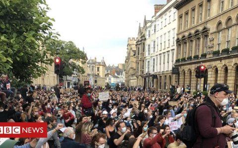 Cecil Rhodes: Protesters demand Oxford statue removal