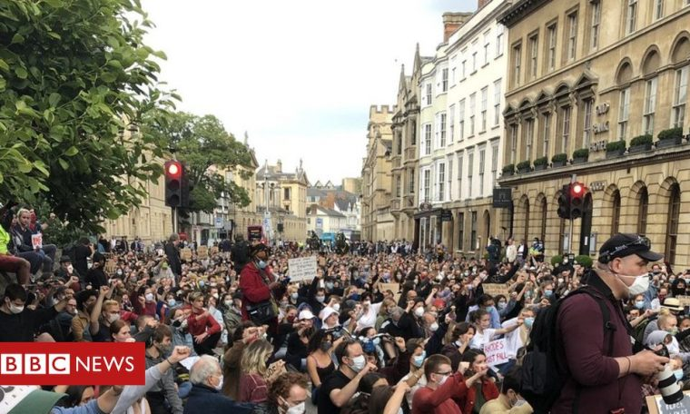 Cecil Rhodes: Protesters demand Oxford statue removal