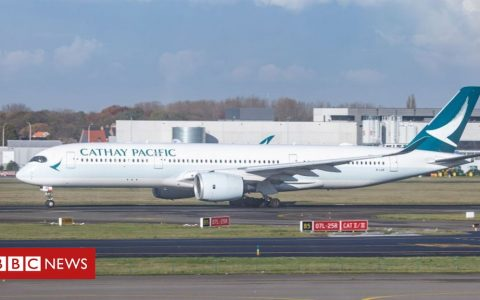 Coronavirus: Cathay Pacific gets $5bn state-backed bailout