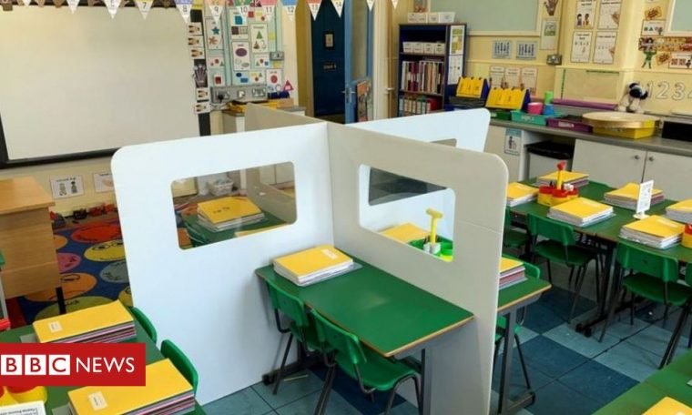 Coronavirus: NI schoolchildren to follow 1m social distancing