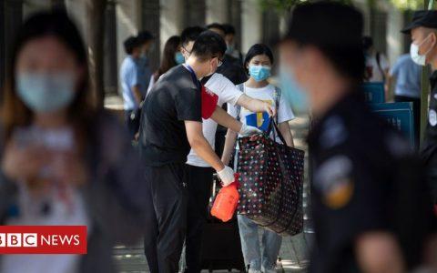 Coronavirus: Satellite traffic images may suggest virus hit Wuhan earlier