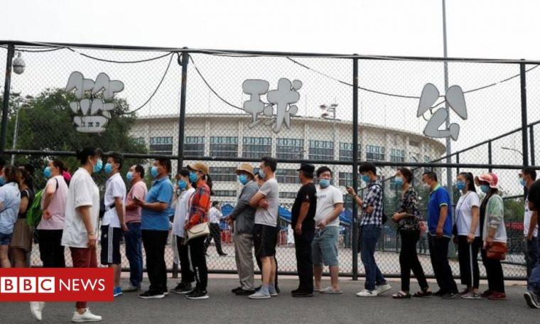 Coronavirus in Beijing: 27 neighbourhoods not allowed to leave as spike continues