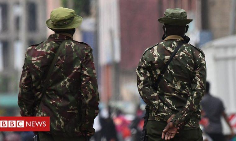 Coronavirus in Kenya: Police kill three in motorcycle taxi protest