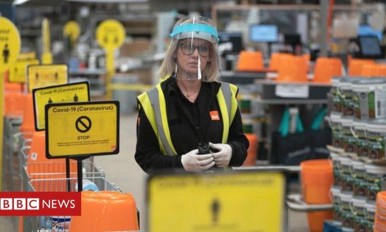 DIY spending splurge helps May sales recover