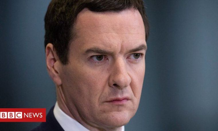 George Osborne to step down from Evening Standard