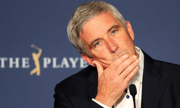 Golf 'lends itself more to social distancing,' says PGA Tour commissioner