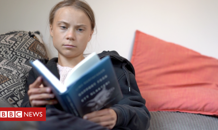 Greta Thunberg: Climate change 'as urgent' as coronavirus
