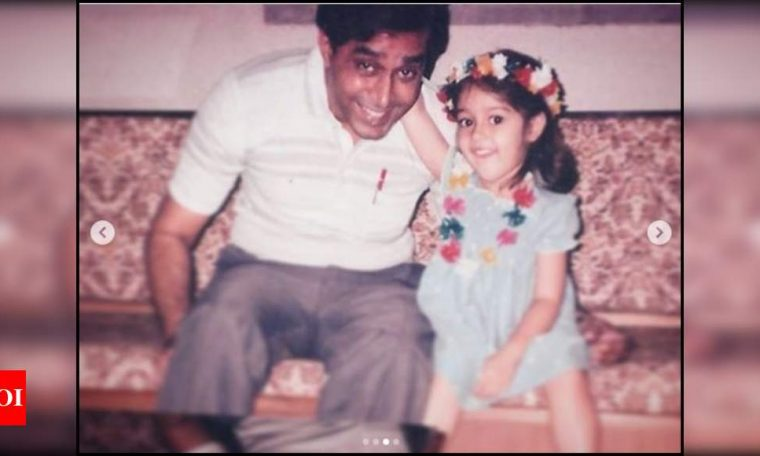 Ileana D'Cruz wins over the internet with her adorable childhood pictures and heartfelt message for father; view post   Hindi Movie News