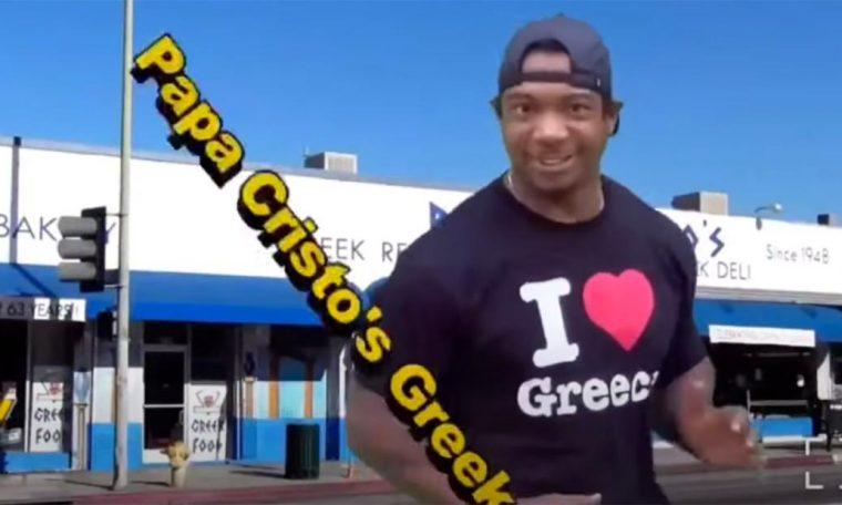 Ja Rule films wacky, low-budget commercial for Greek restaurant
