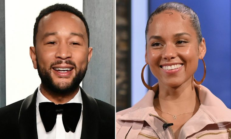 John Legend and Alicia Keys premiere new music in the latest Verzuz music battle