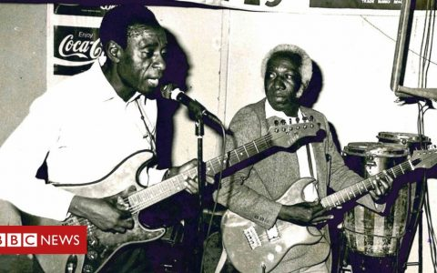 John Nzenze: The founder of 'Africa's best band'