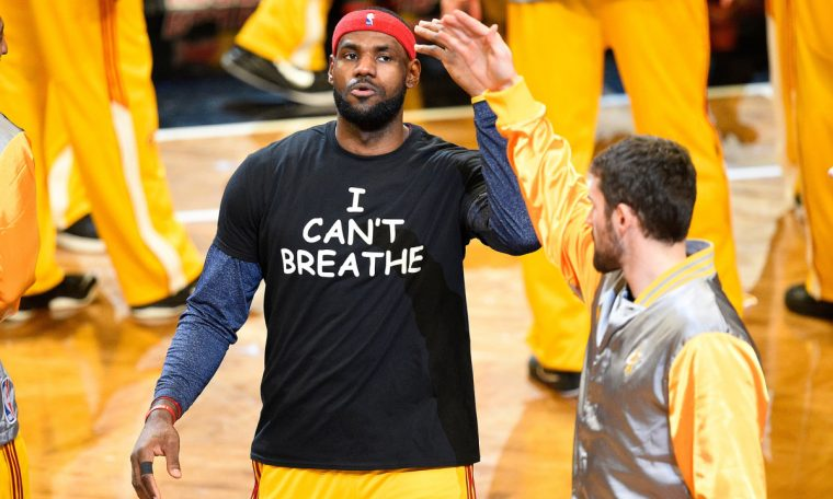 LeBron James launching voting rights nonprofit with black stars