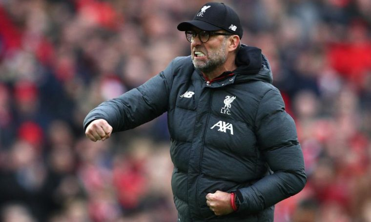 Liverpool boss Jurgen Klopp eyes potential points record after winning Premier League title
