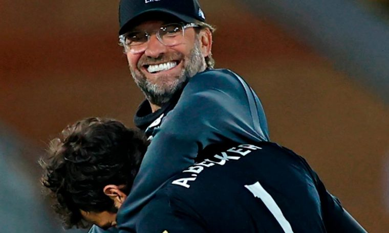 Liverpool wins English Premier League for the first time in club's history