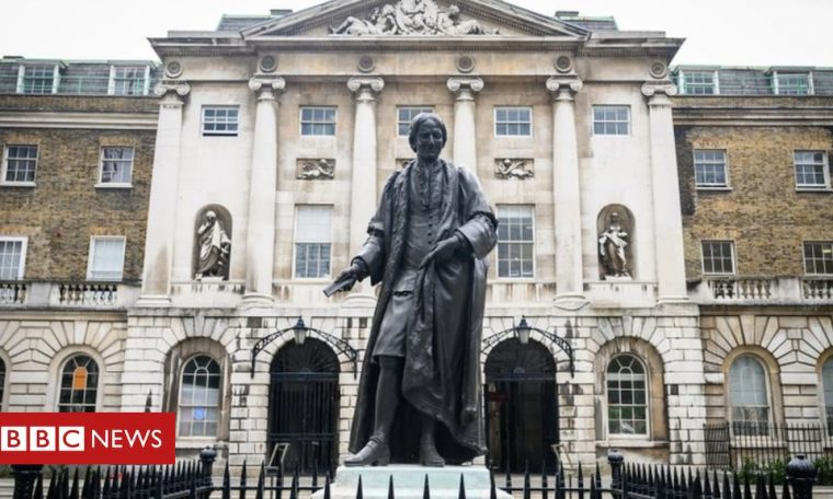 London statues with slavery links 'should be taken down'