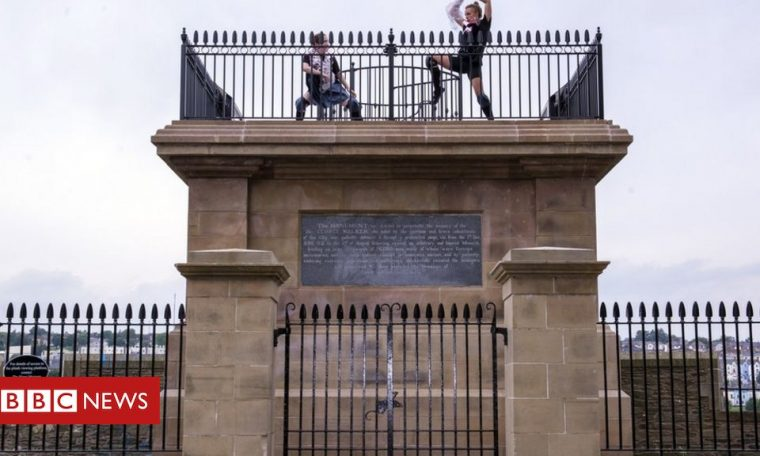 Londonderry: New artwork for blown-up statue site