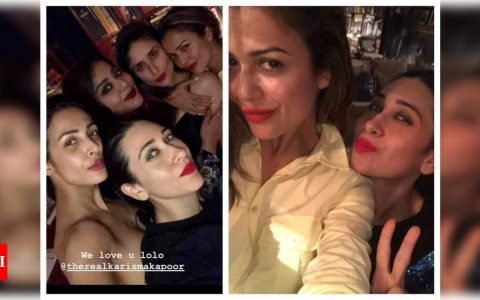 Malaika and Amrita Arora wish Karisma Kapoor on her birthday with lovely pictures | Hindi Movie News