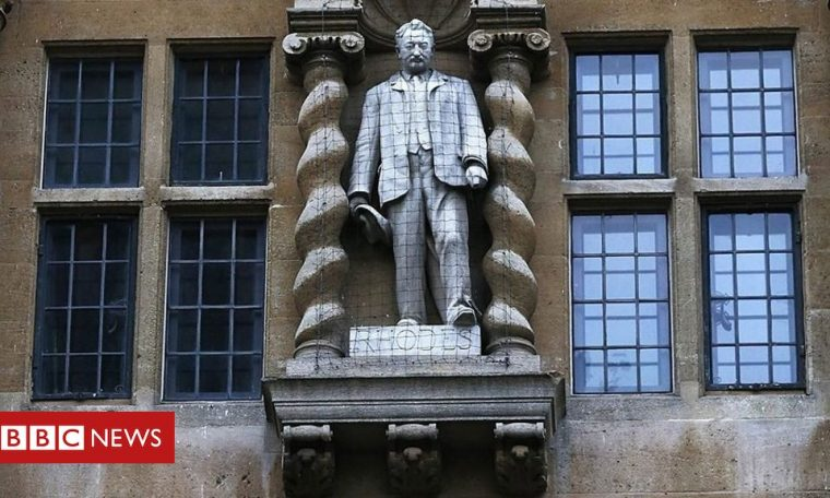 Oxford college wants to remove Rhodes statue