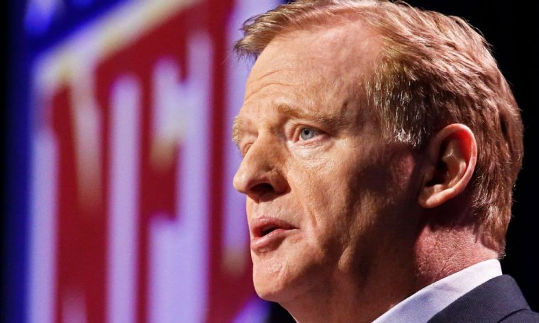 President Donald Trump reopens anthem debate with tweet aimed at Roger Goodell