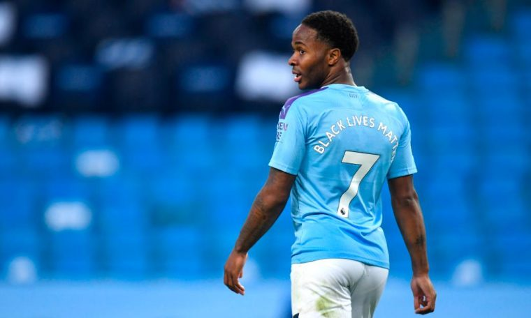 Raheem Sterling welcomes 'massive step' after Premier League players take a knee