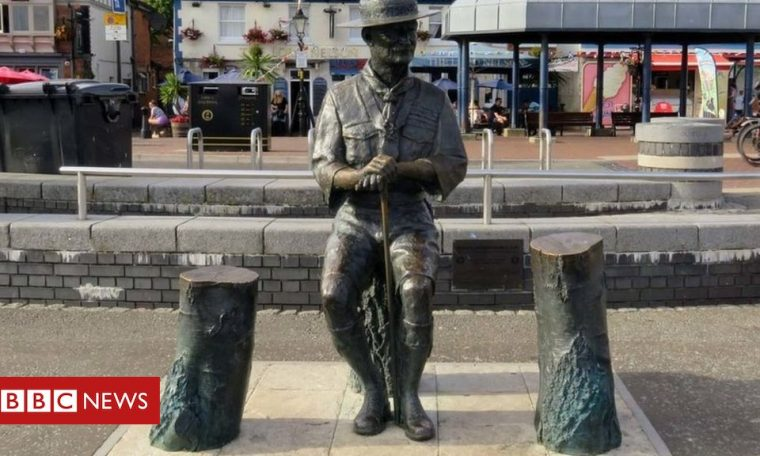 Robert Baden-Powell: Scouts founder statue to be removed in Poole