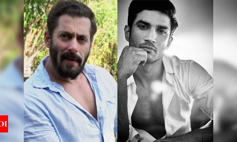 Salman Khan appeals to stand with Sushant Singh Rajput's fans and 'not go by the curses used but to go with emotions behind it'