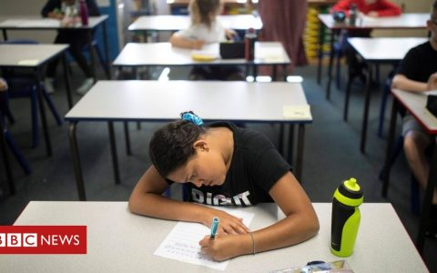 Secondary schools bring pre-exam pupils in for face time