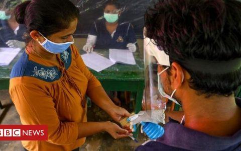 Sri Lanka holds coronavirus-proof test vote ahead of election