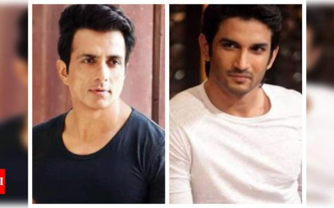 Sushant Singh Rajput's case: Sonu Sood feels it is not right to blame one section of Bollywood   Hindi Movie News