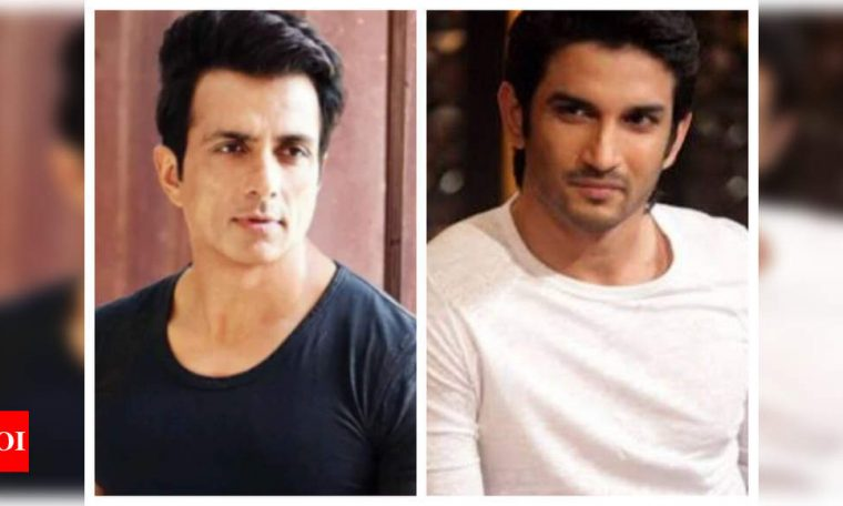Sushant Singh Rajput's case: Sonu Sood feels it is not right to blame one section of Bollywood | Hindi Movie News