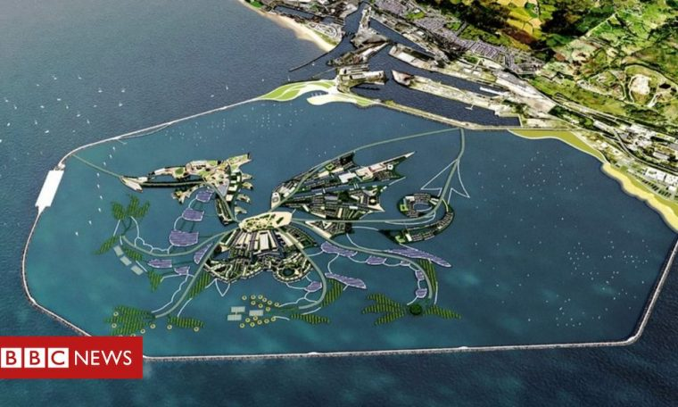 Swansea tidal energy: Hopes of backing for Dragon Island plan